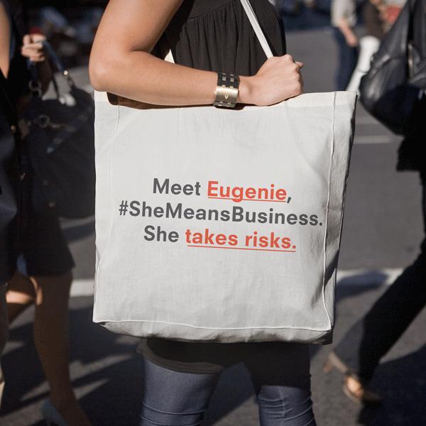 #SheMeanBusiness