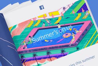 Facebook – Summer's on Us